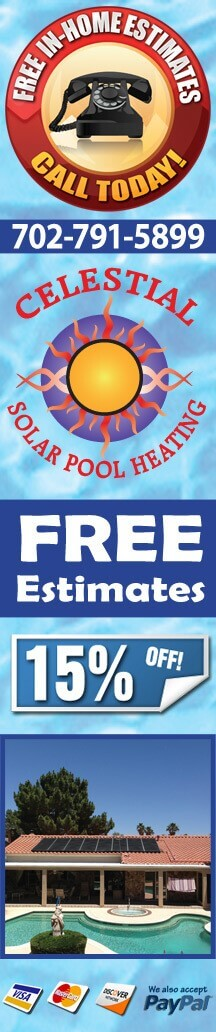 Solar Pool Heating Las Vegas