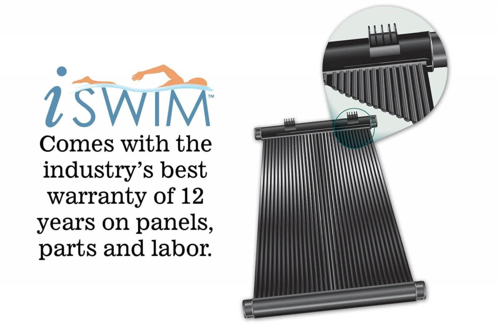 iSwim solar panels